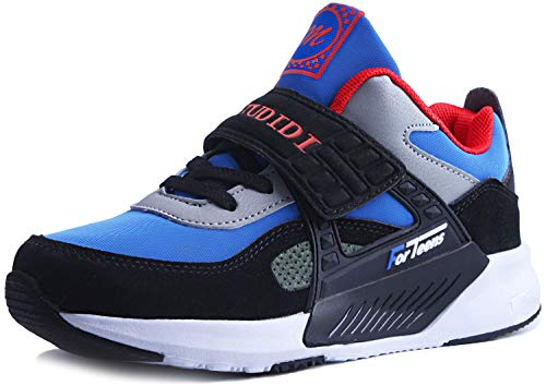 Zapatos Niño 31 Infantil Zapatillas Sneakers Zapatillas Running Unisex Zapatos Deportivos Running Shoes Calzado Trekking Ligero Transpirables Azul