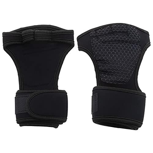 1 paio di guanti da allenamento unisex, traspiranti, neri, 23 x 10 x 3,2 cm, taglia XL