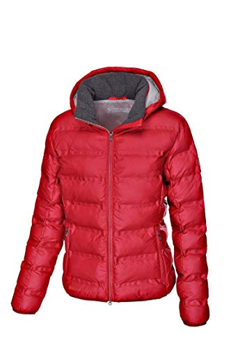 Pikeur Damen Steppjacke EBANA Classic Collection Herbst-Winter 2019/2020, Bright red, 36