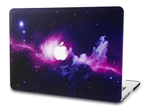 KECC MacBook Pro 13 Pulgadas (Unidad de CD) Funda Dura Case Cover Viejo MacBook Pro 13.3 Ultra Delgado Plástico {A1278} (Púrpura)