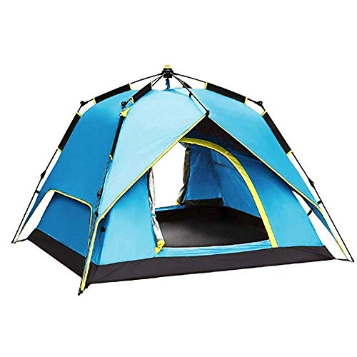 WY-YAN Automatic Instant Pop-up for Indoor and Outdoor Camping, Family Double Waterproof Backpack Tent, 230 * 230 * 145cm