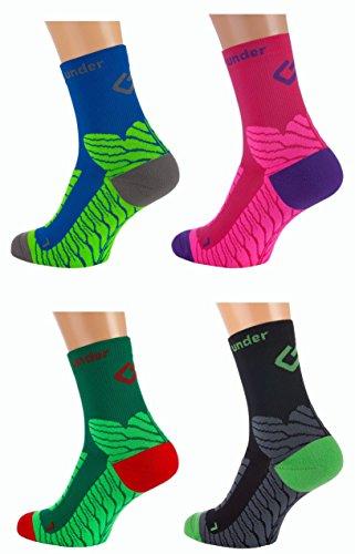 Sport Kompressions Socken 'under pressure SOCKX' (schwarz, 39-42)