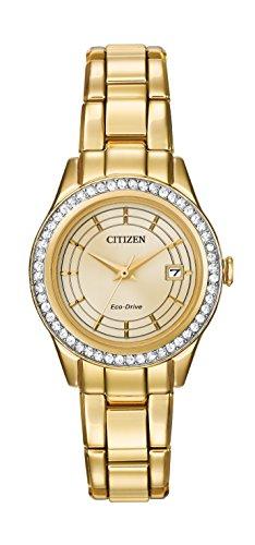 Citizen FE1122-53P - Reloj de Pulsera Mujer, Color Dorado