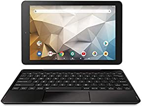 RCA Newest Best Performance Tablet Quad-Core 2GB RAM 32GB Storage IPS HD Touchscreen WiFi Bluetooth with Detachable Keyboard Android 9 Pie (10