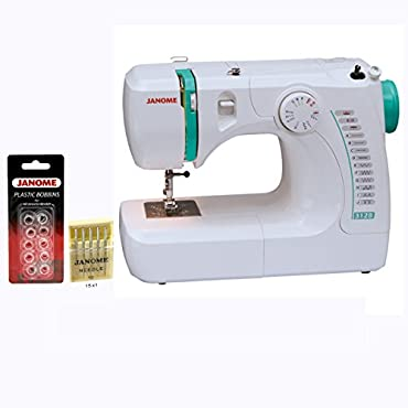 Janome 3128 Sewing Machine with Free 1/4 Inch Foot & FREE BONUS