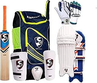 SG Cricket Kit Full Set For Adults with Ezeepak Bag