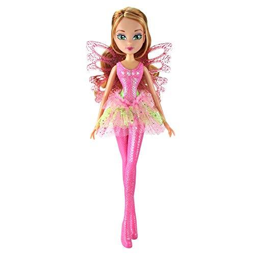 Giochi Preziosi Winx sirenix Bubbles Wings, Flora con alas y abanderado de Efecto Burbujas