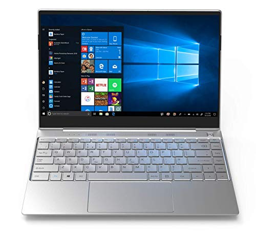GeoBook 3Si 13.3 inch Windows 10 Laptop Full HD Intel Core i3 Processor 128GB SSD 4GB RAM Metal Shell