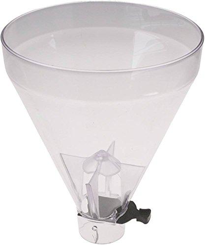 Mazzer Kaffeebohnenbehälter für Kaffeemühle SUPER-JOLLY, Macinadosatore-Super-Jolly Höhe 260mm ø 208mm Aufnahme ø 57mm