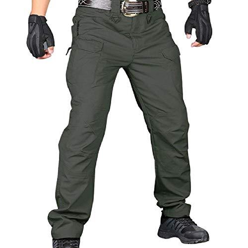 nobrand Herren Tactical Pants Casual Autumn Leichte wasserfeste Wanderhose Outdoor Ridge Cargo Jogginghose Long Homme Pants