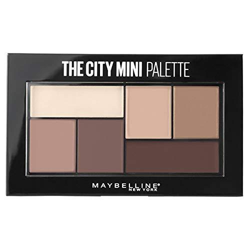 Maybelline New York The City Mini Palette, Pigmenti Puri per un Colore Intenso in una Sola Passata, 480 Matte About Town