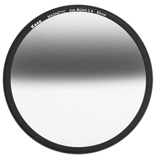 Kase Wolverine 82 mm Reverse Grad ND0.9 Magnetisches stoßfestes gehärtetes optisches Glas Sonnenuntergangsfilter inkl. Adapter 82 ND 0,9 3 Blendenstufen