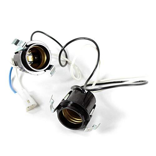Broan R111630 Range Hood Light Socket Genuine Original Equipment Manufacturer (OEM) Part Black