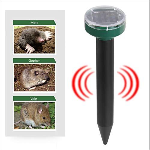 WSLDDD 4PCS Outdoor Ultraschall Insektenschutz Mückenschutz Solar Mückenschutz Ultraschall Rattenschutz Schlangenvogel Mücke Maus Kontrollgarten