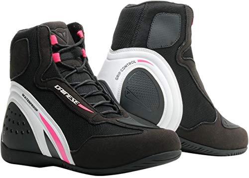 Dainese Motorshoe D1 Lady D-WP - Botas de Moto Impermeables para Mujer