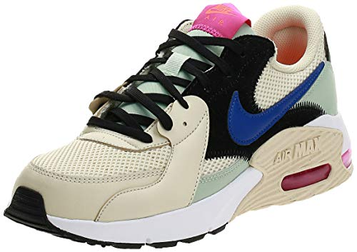 Nike Damen Air Max Excee Laufschuh, Fósil/Hiperazul/Escarcha Pistachio, 38.5 EU