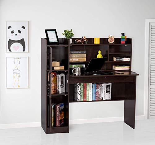 Deckup Versa Study Table and Office Desk (Dark Wenge, Matte...