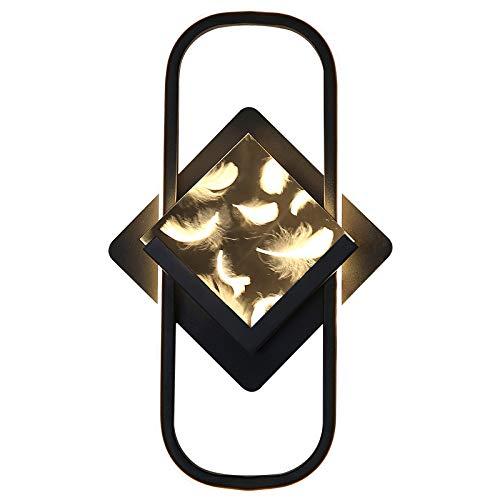 Kreative Wandleuchte, Wohnzimmer Moderne Nachttischlampe LED-Lampe, Weißes Licht/Warmes Licht,Warm light