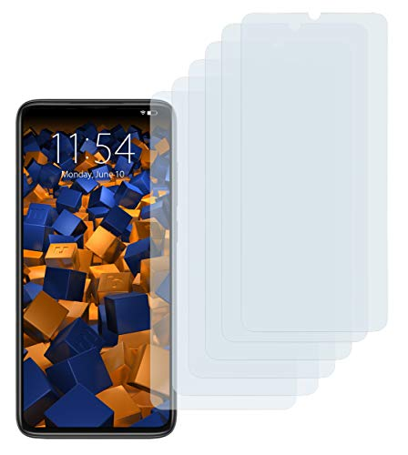 mumbi Schutzfolie kompatibel mit Xiaomi Redmi Note 8 Pro Folie klar, Bildschirmschutzfolie (6x)