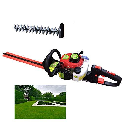 Cortasetos de gasolina, hoja de doble cara, cortasetos, cortasetos, motor, herramientas de jardín, longitud de fresa, 56 cm