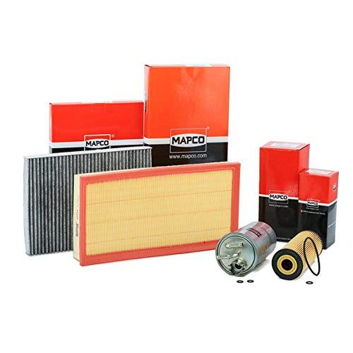 Mapco 68903 Inspektionspaket Ölfilter Luftfilter Innenraumfilter Kraftstofffilter Ölablaßschraube