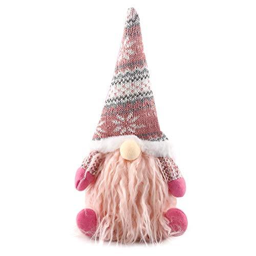 Weihnachten Deko Wichtel, Weihnachtspuppen, Weihnachtselfen, Osterweihnachtsdekorationen Zwerghöhe 29cm, Süßer Schwedischer Weihnachtsmann, Gesichtslose Puppen, Partygeschenke und Szenendekorationen
