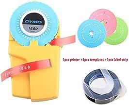 WMC 9Mm 3D DIY Manual Label Maker for Embossing Plastic PVC Label Manual Label Printer Typewritter Household Note Machine