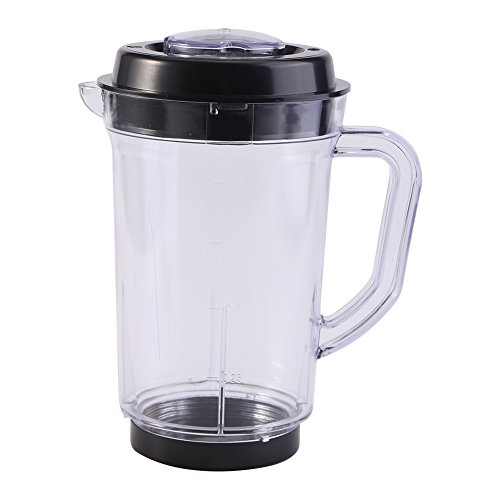 Juicer Blender Pitcher, 1000ml Juicer Measuring Cup Replacement Water Milk Cup Holder Juicer Blender Pitcher Replacement for Magic Bullet
