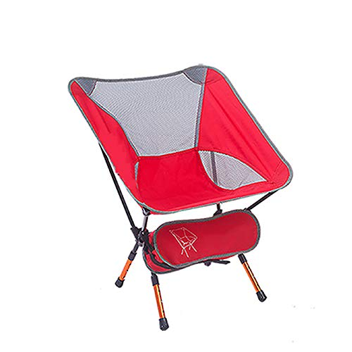 Chaise Pliante de Loisirs, Chaise de Camping, Chaise de pêche Portable, Chaise de Dessin du Directeur, Alliage d'aluminium réglable
