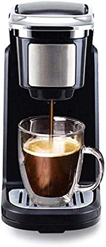 YYhkeby Cafetera Mini cápsula de café Americano Hogar té Cerveceros Leche Caldera de té Máquina de cápsulas de café Jialele
