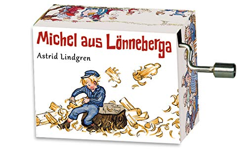 """Fridolin Spieluhr / Music Box """"Michel im Holzschuppen"""", Melodie: Michel war ein Lausejunge"""