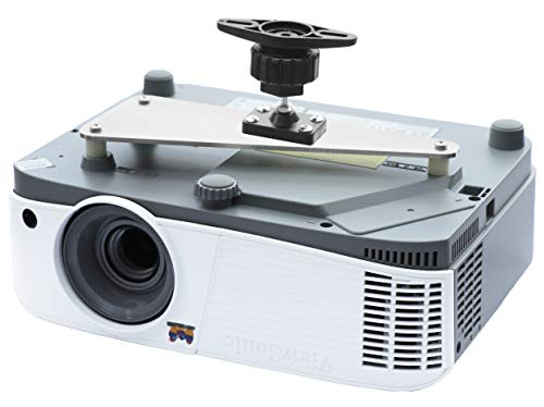 PCMD, LLC. Projector Ceiling Mount Compatible with ViewSonic PA500S PA500X PA503S PA503W PA503X (4-Inch Extension)