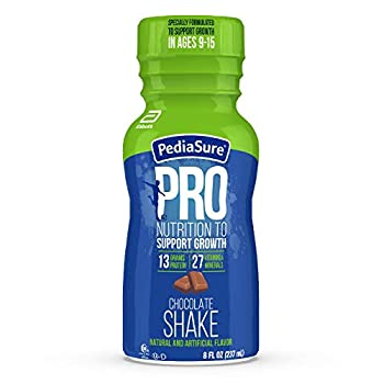 Pediasure PRO Nutritional Shake Protein Shake for Teens with Vitamins & Minerals Chocolate 8 fl oz 24 Count