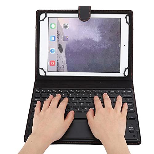 Teclado Bluetooth Duradero con Funda Protectora Teclado inalámbrico Teclado con Panel táctil Teclado inalámbrico Bluetooth para Tablet PC de 9.7-10 Pulgadas