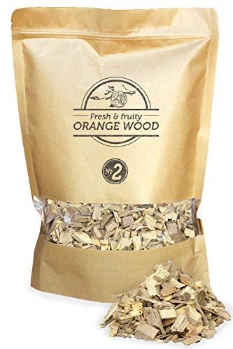 Smokey Olive Wood 1.7L de copeaux d'oranger. Taille des copeaux 5mm-1cm