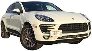 Front Bumper Tow Hook License Plate Mount Bracket For Porsche Macan 2017 2018 NEW
