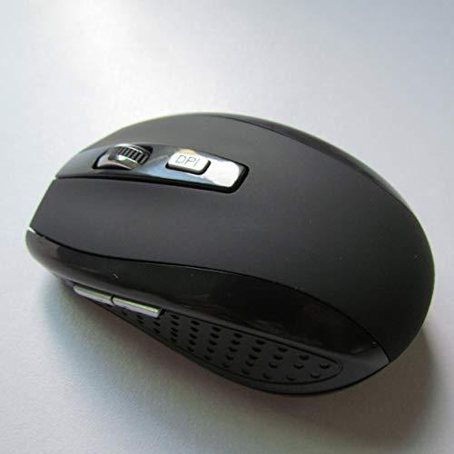 LoveOlvido 1200 dpi mini-muis USB optische draadloze computermuis 2.4G-ontvanger Super slanke muis voor pc-laptop