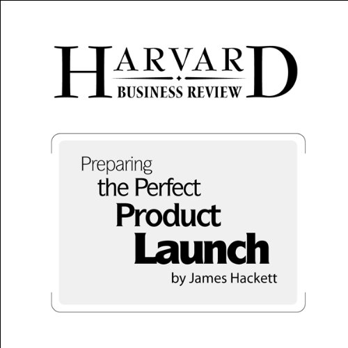 Preparing the Perfect Product Launch (Harvard Business Review) audiobook cover art