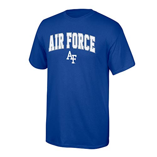 eLITe NCAA Herren T-Shirt NCAA Team Color Arch, Herren, NCAA T Shirt Team Color Arch, Air Force Falcons Blue, Large