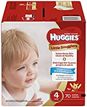 Huggies Little Snugglers Baby Diapers, Size 4, 70 Count, GIGA JR PACK (Packaging May Vary)