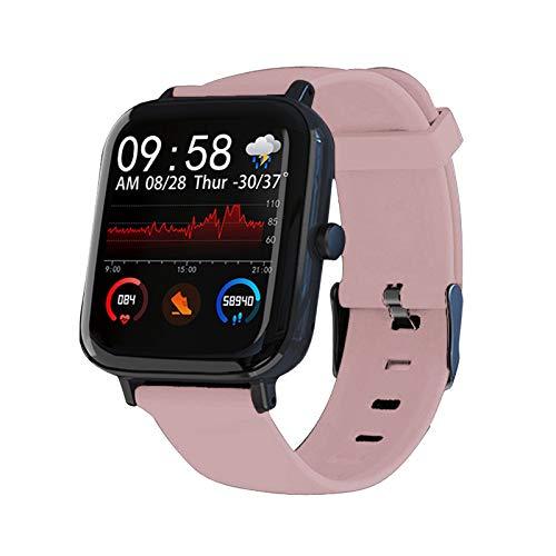 Soolike Smart Watch, Reloj Inteligente Mujer/Hombre Táctil de 1.3 Pulgadas, Smartwatch Impermeable IP67 con Monitor de Sueño Contador de Caloría Pulsómetros Podómetro para Android/iOS.