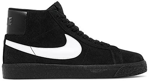 Nike SB Zoom Blazer Mid Scarpe, Nero (nero bianco e nero.), 45 EU