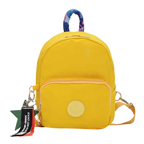 SicongHT Children Girls Boy School Student Satchel Backpack Book Bag Nylon Kid Student Satchel (C)