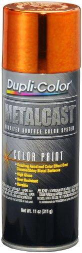 Dupli-Color ( EMC205007-6 PK Orange Anodized Coating - 11 oz. Aerosol, (Case of 6)