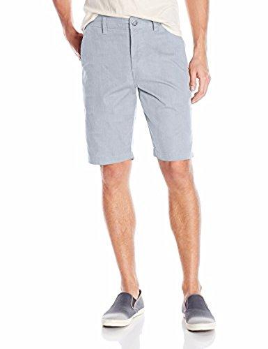 Volcom Men's Stretch Modern Fit Chino Short, Grey, 36