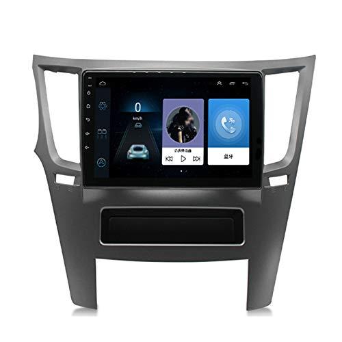 Para Subaru LEGACY Androide Estéreo Automóvil Radio Navegacion GPS IPS 9' Tocar Pantalla Multimedia Jugador Cabeza Unidad Incorporado WIFI Bluetooth SWC Separar Pantalla Video Receptor