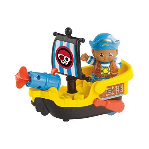 Vtech 80-178804 Kleine Entdeckerbande - Pirat Nico mit Boot Spielfiguren Babyfiguren, bunt