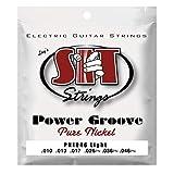 SIT 10-46 Gauge Power Groove Pure Nickel Light Electric Guitar Strings