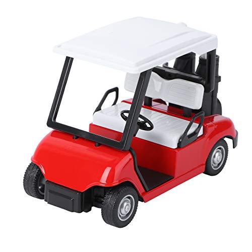 Abaodam Carrito de Golf Modelo de Mini Carrito de Golf de Metal...
