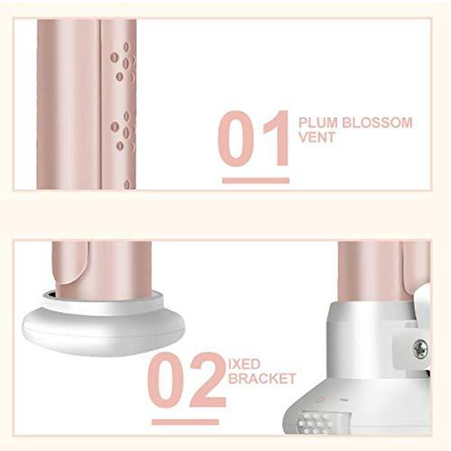 30w Mini Schnurloser Lockenstab USB wiederaufladbare Keramik Haar Lockenstab nass & trocken Verwendung Reise Haarglätter Lockenwickler für Haar Styling